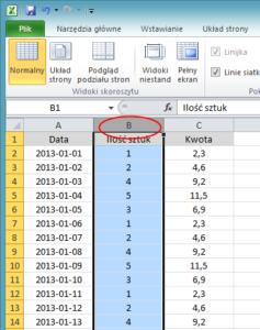 Jak zablokować komórki w Excelu - screen 3